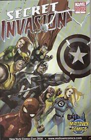 Secret Invasion #1 Midtown Comics NYCC Yu Variant Marvel comic book